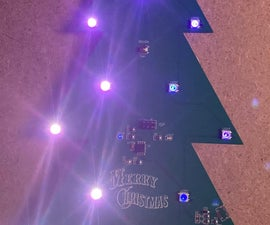 Chirstmas Tree With Arduino and PixLeds