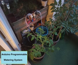 Easy Programmable Watering System With Arduino