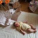 $1 homemade DIY baby mobile