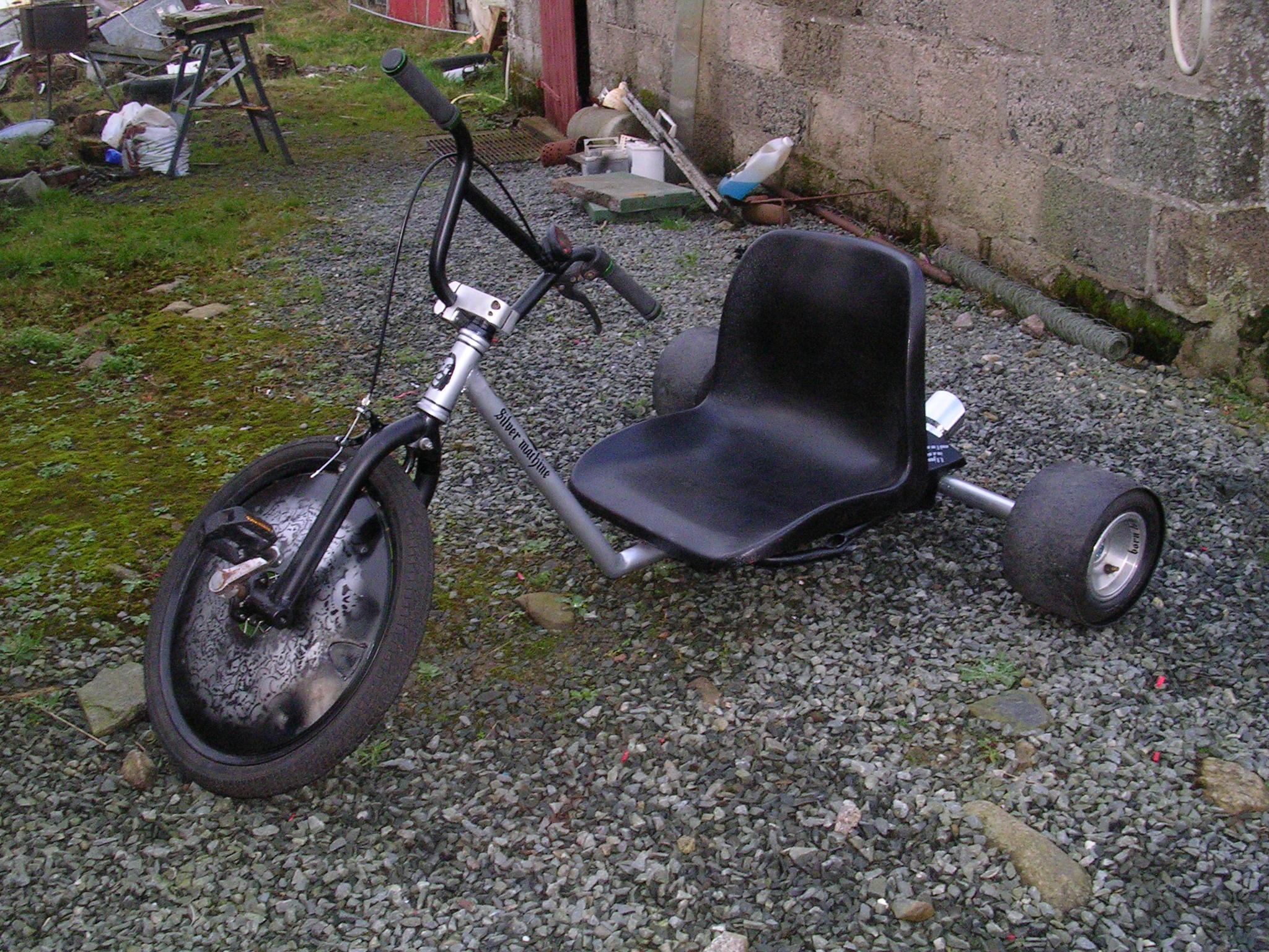 How I built a Drift Trike a step by step guide.