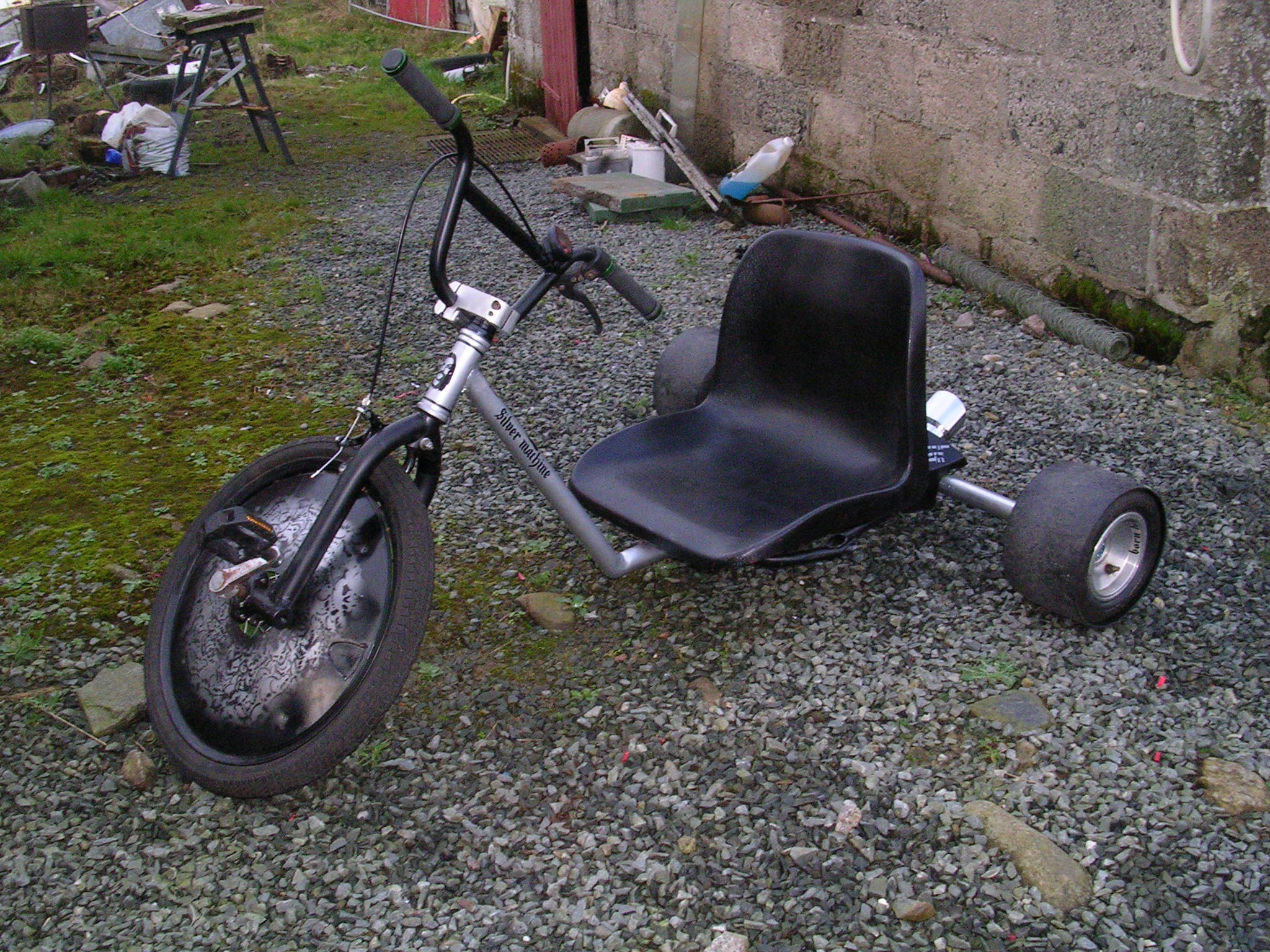 How I Built A Drift Trike A Step By Step Guide 16 Steps With Pictures Instructables