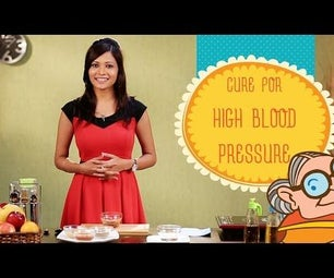High Blood Pressure - Cure for Hypertension - Natural Home Remedies