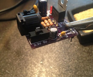 Purple Squirrel Breadboard Power Supply Kit