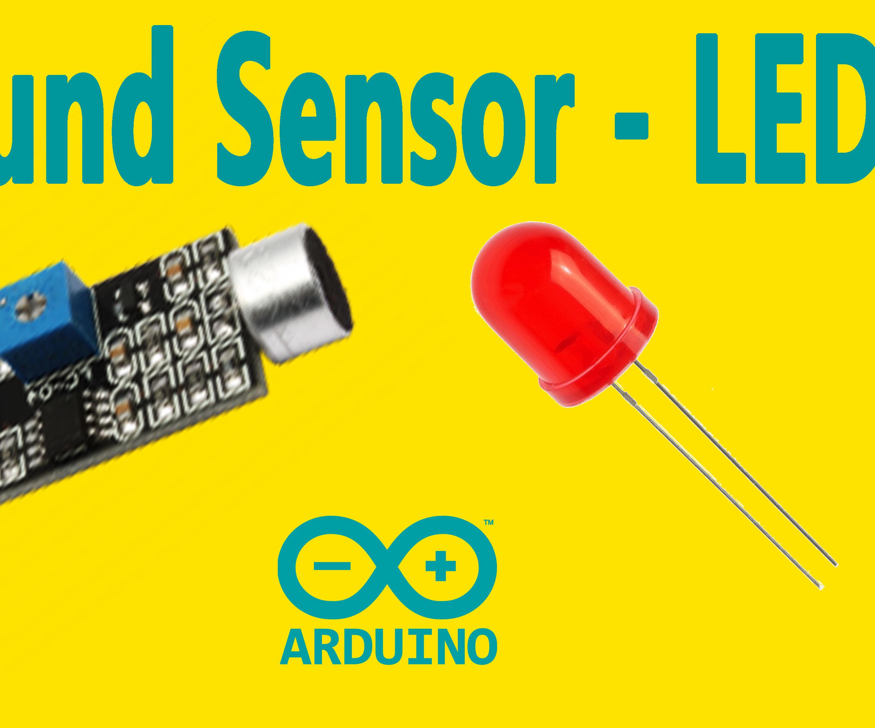 Arduino - Sound Sensor (with LED)