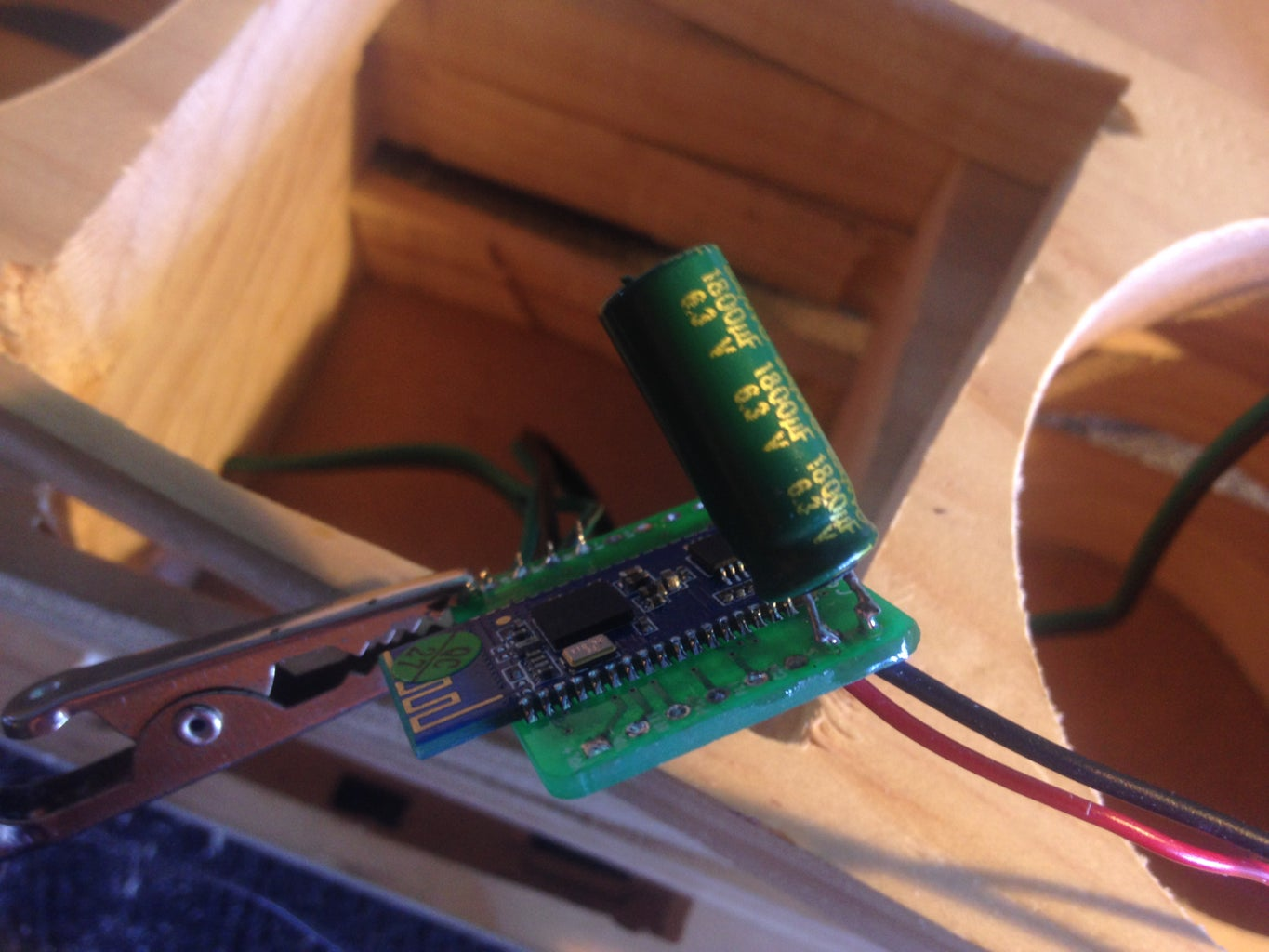 Wiring the Amplifier