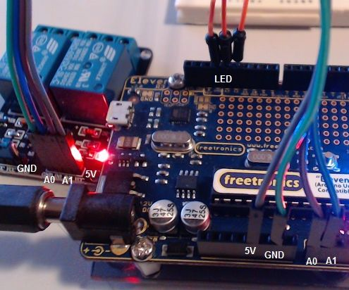 Arduino 2 Channel Relay