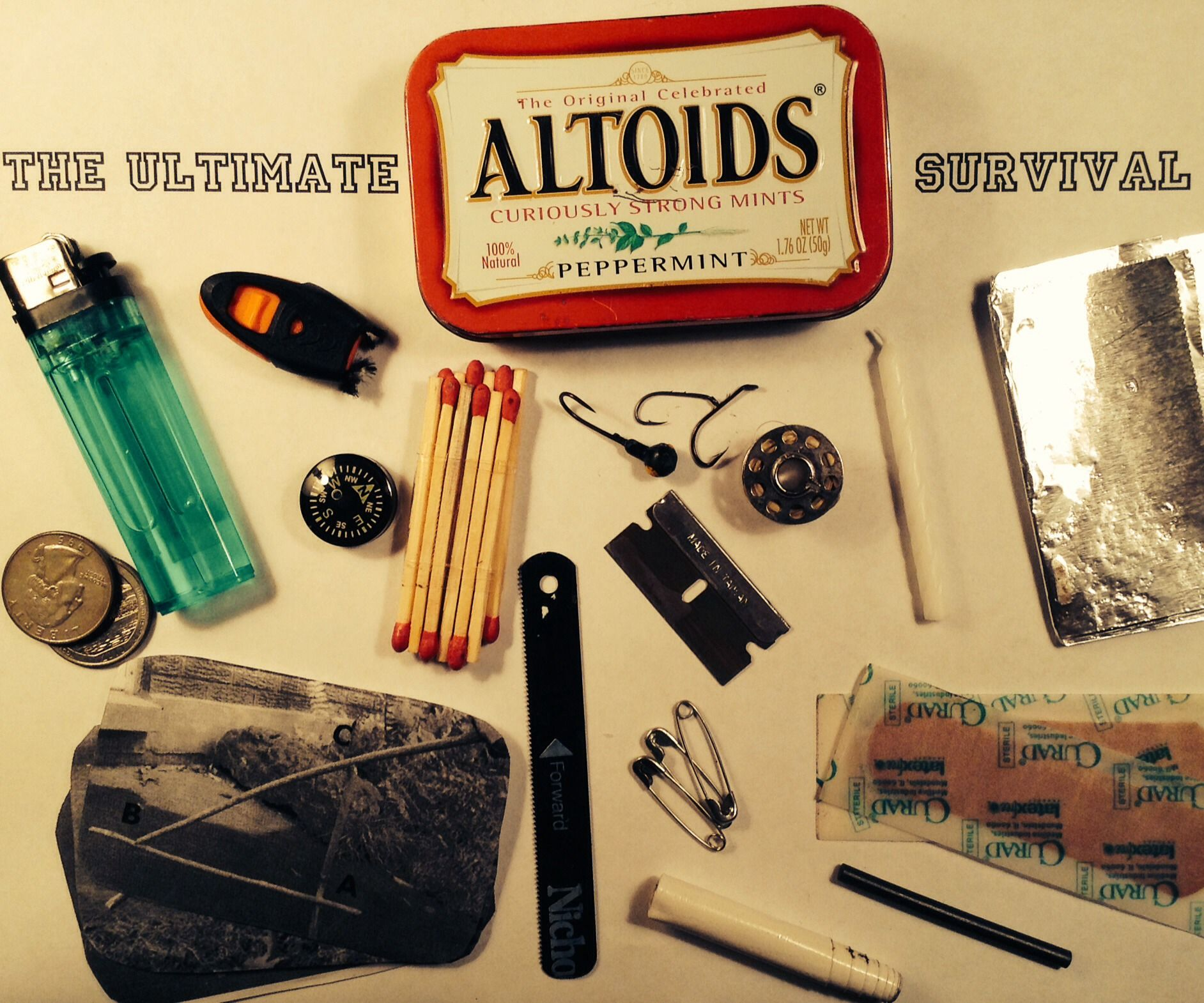 The Ultimate Altoids Survival Kit