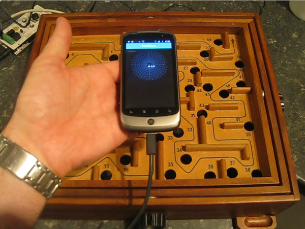DIY Android Ball Maze - an Introduction to the Android ADK