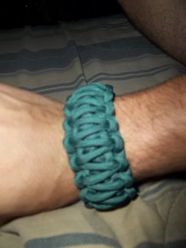 Making Paracord Cobra Weave 2 Layer