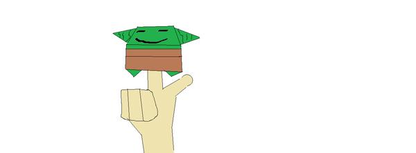 Oragami Yoda