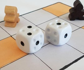 Modified Regular Dice for the Royal Game of UR