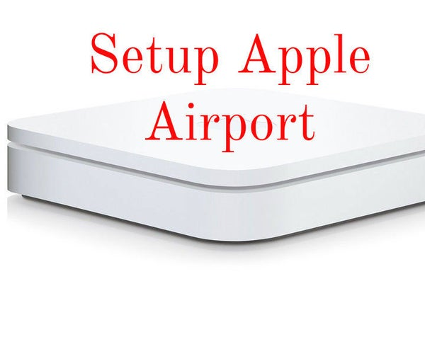Setup Apple Airport