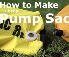 Dry Bag -> Pump Sack + Camp Shower
