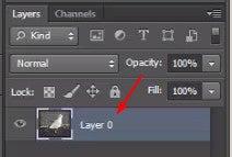 Unlock Background Layer