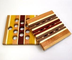 Exotic Wood Trivets