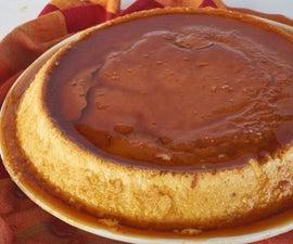 Flan De Queso (Spanish Cream Cheese Custard)