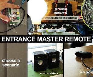 Entrance Master Remote (w/ Raspberry Pi)