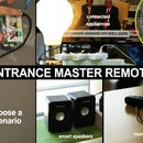 Entrance Master Remote (w/ Raspberry Pi)