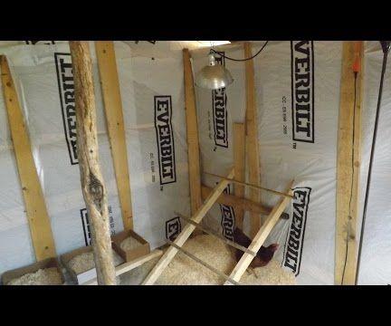 Insulating the Chicken Coop