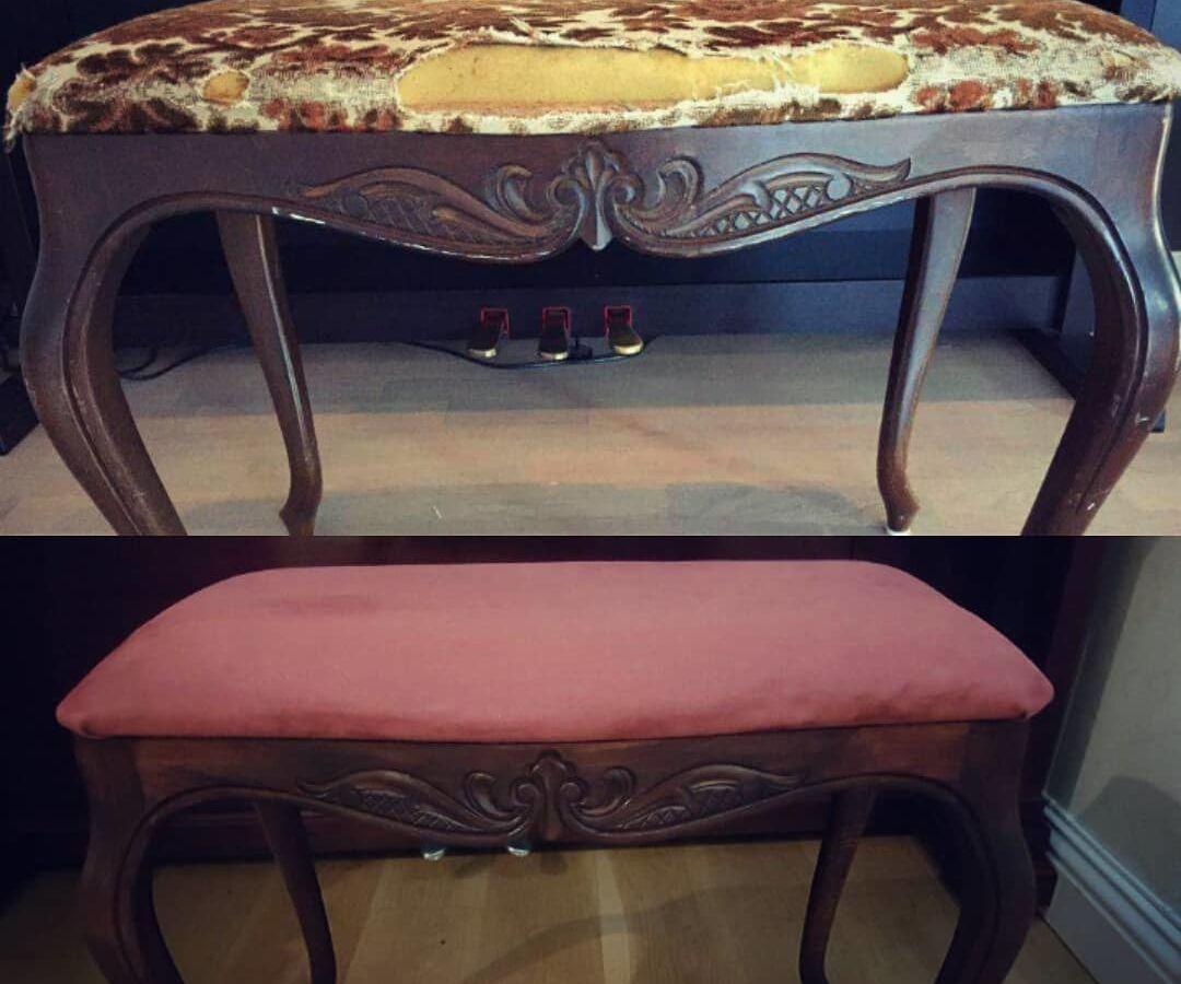 Piano Chair Restoration