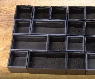 Plastic Small Parts Bins