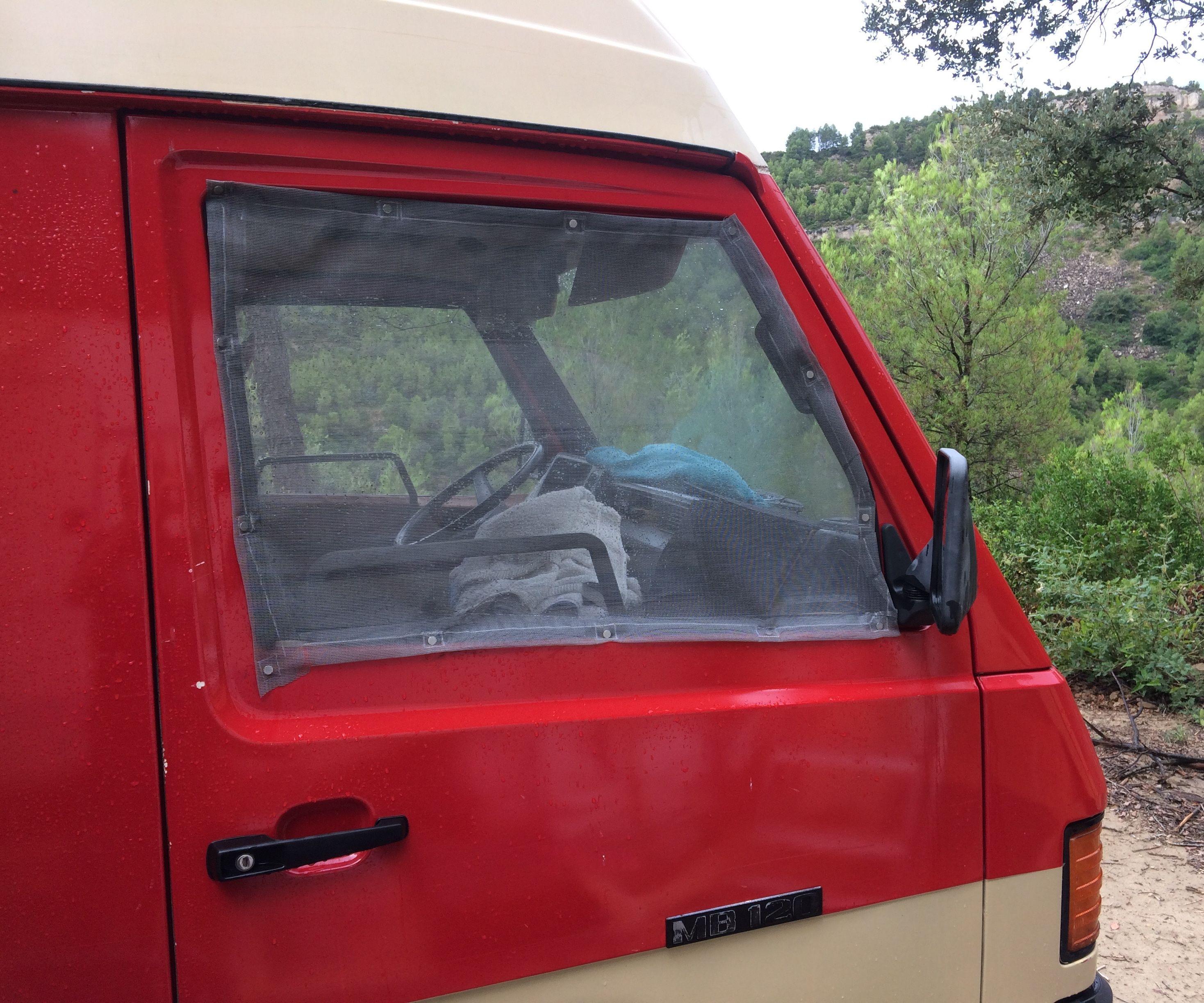 Mosquito Net With Magents for Van Window