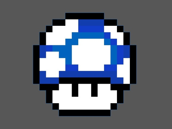 How to Make a Mario Mushroom Any Color You Want.