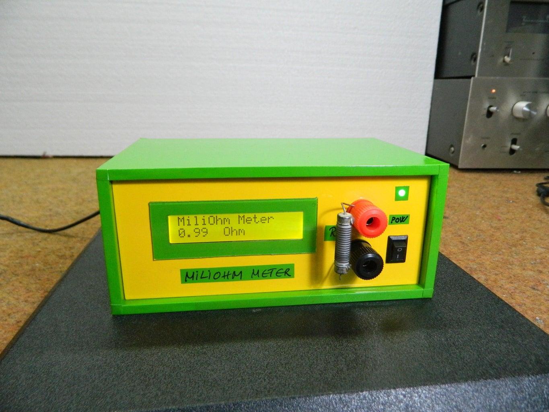 DIY Arduino Miliohmmeter for Measure Low Value Resistances