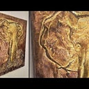 How to Make Elephant Embossed Painting / Metal Art