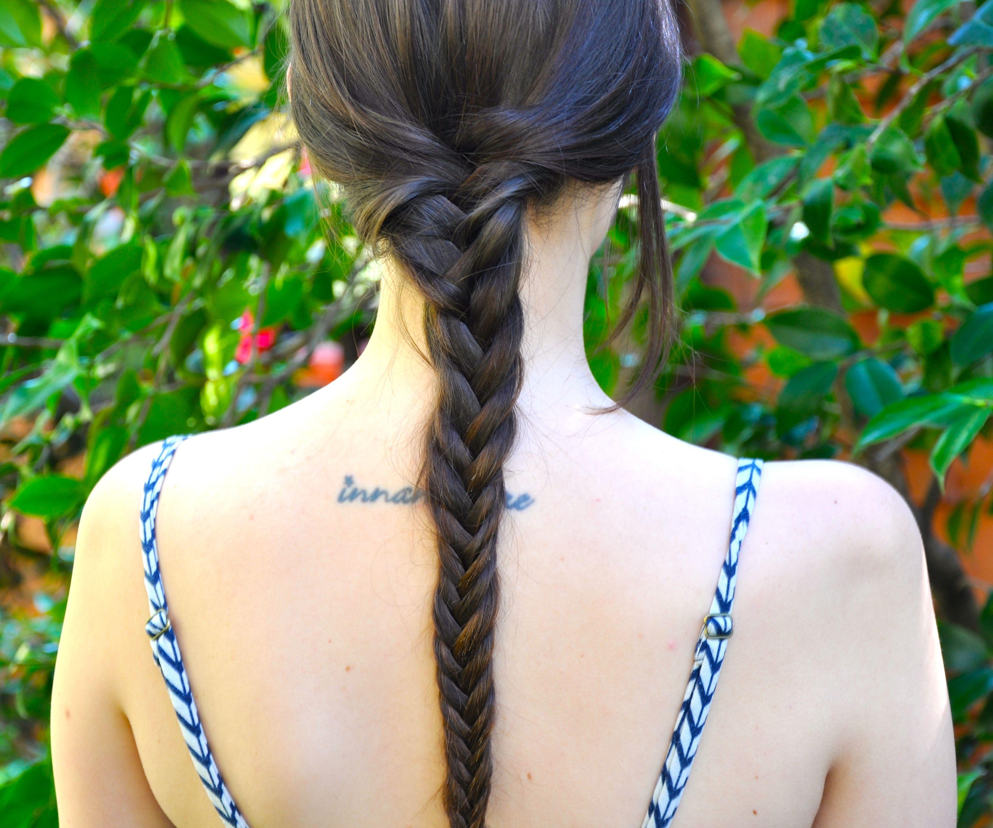 How to do a Basic Fishtail Braid