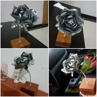 Home Improvement Store: Metal Rose
