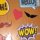 HOW TO MAKE PHOTO BOOTH PROPS