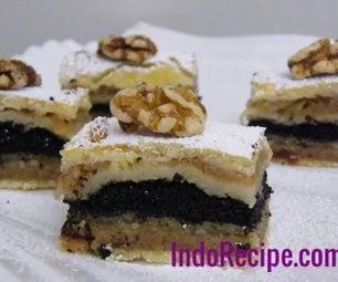 White Wine Layer Cake (Flodni)