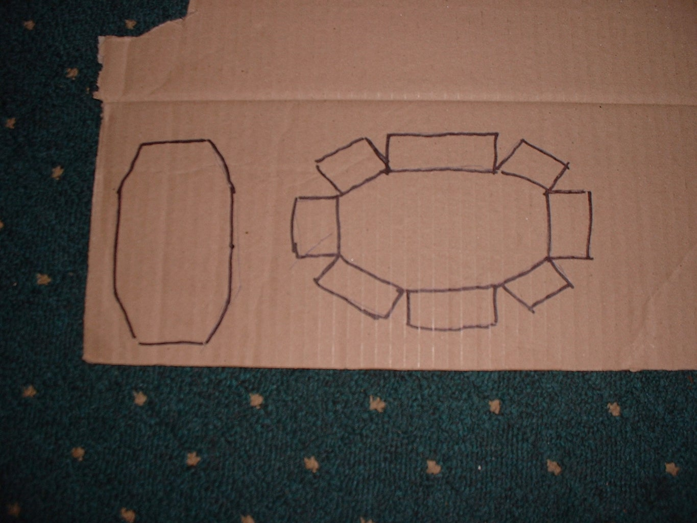 Making a Morpher, Marking the Card.