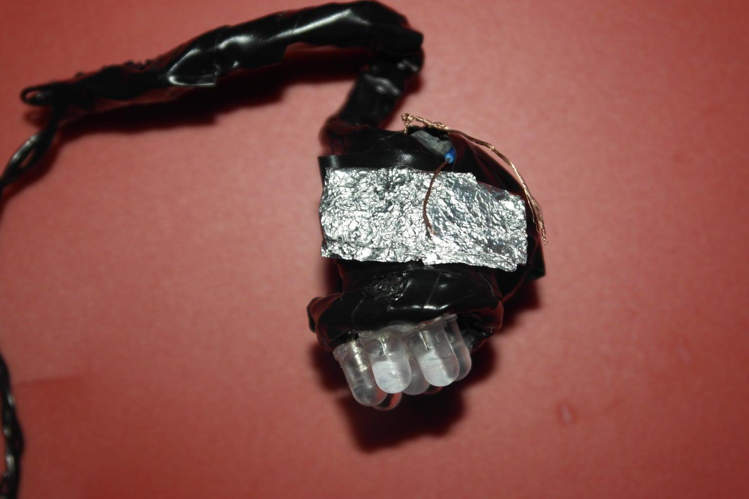 Making the Battery Holder: Alumium