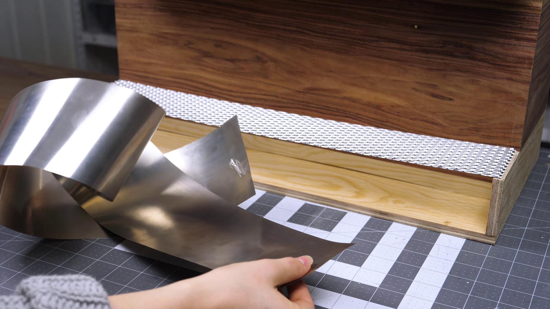 Adding Aluminum Details