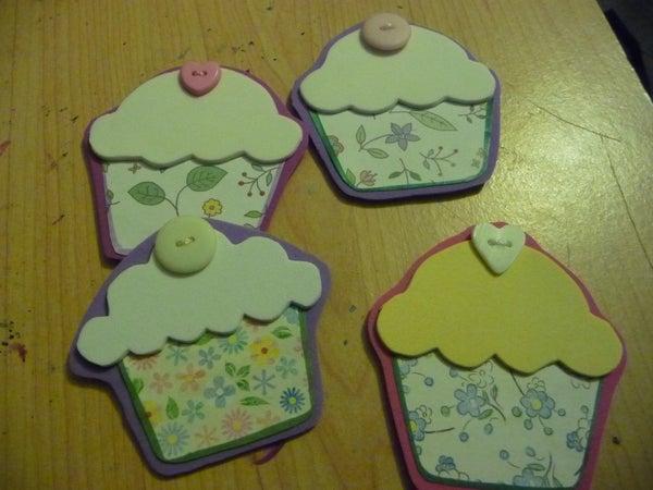 Cupcake Fridge Magnets