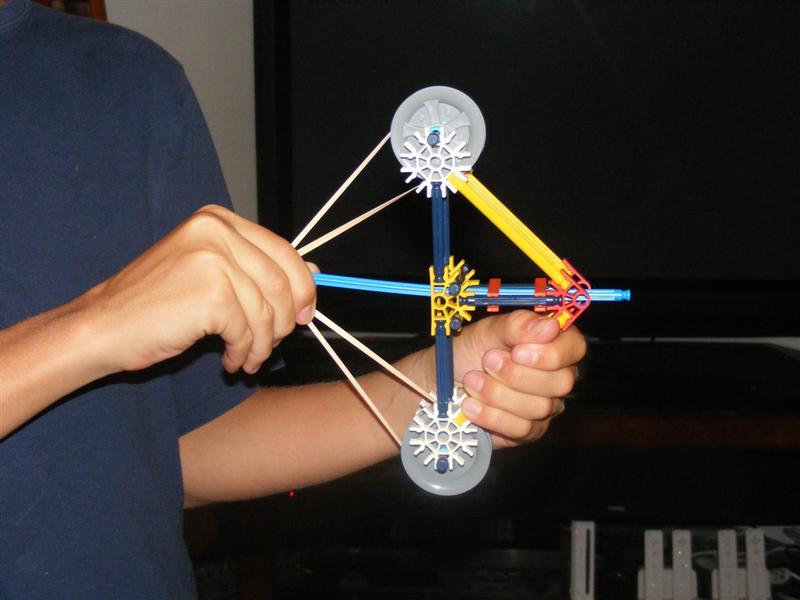 A knex bow and arrow