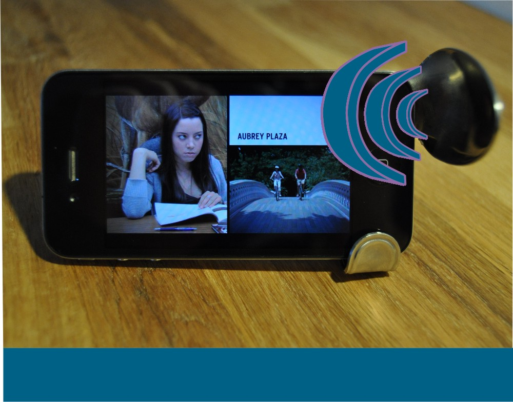 Hyperbolic Spoon iPhone Amplifier/Stand