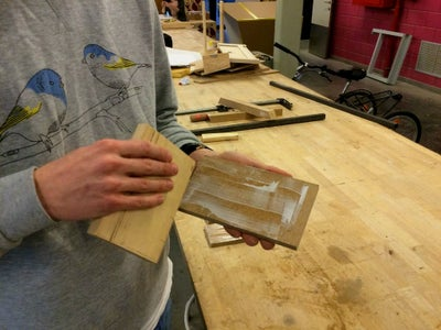 Apply a Layer of Wood Glue