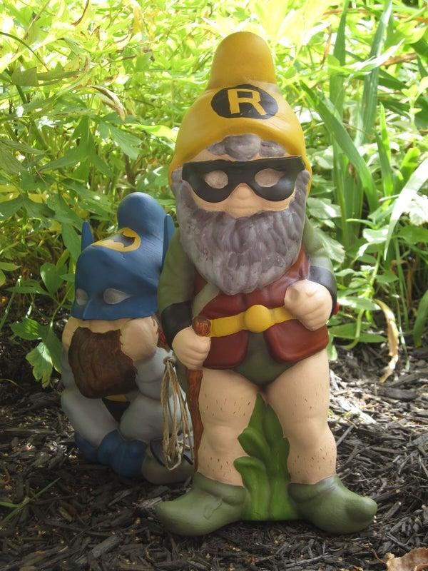 Superhero Garden Gnome Mod
