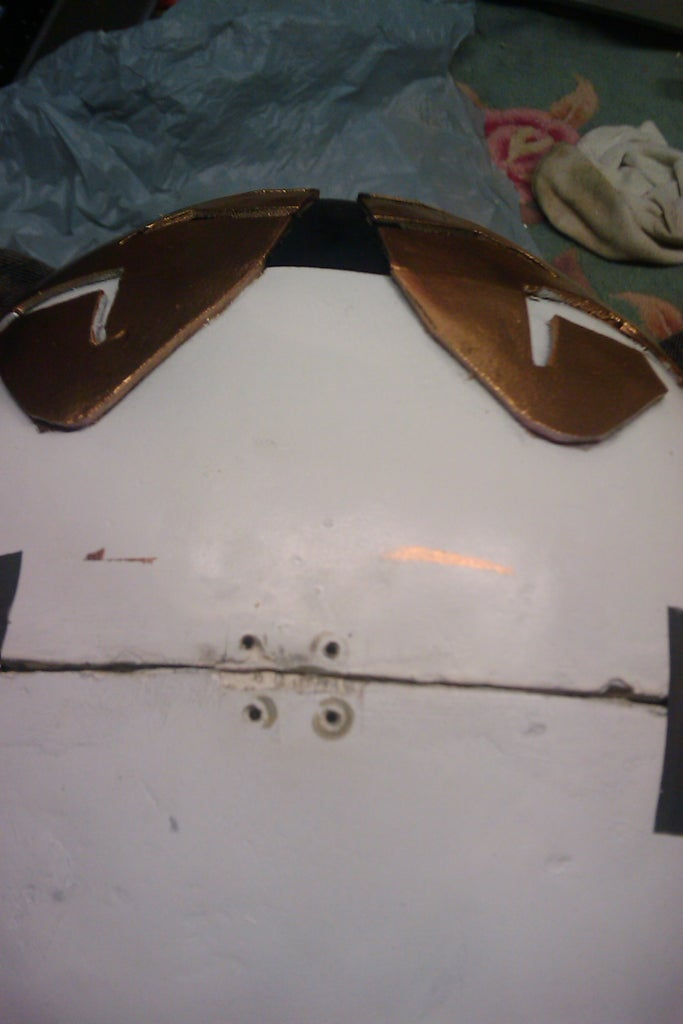 Creating the Visor and Painting
