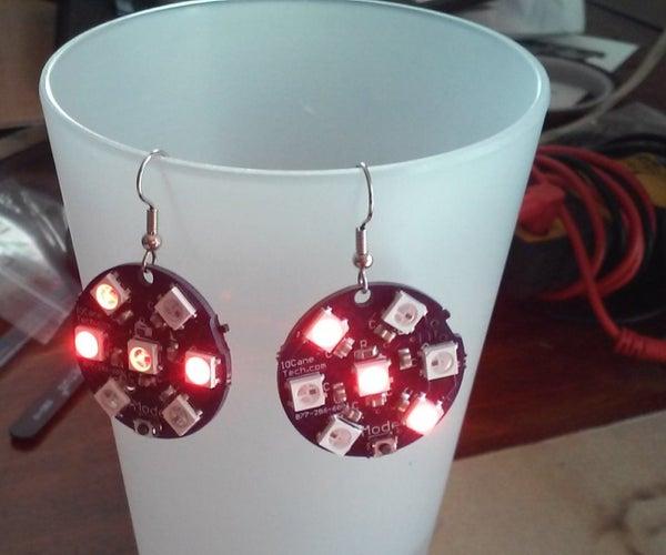 Electronic All Seasons, All Holidays, LED Earrings