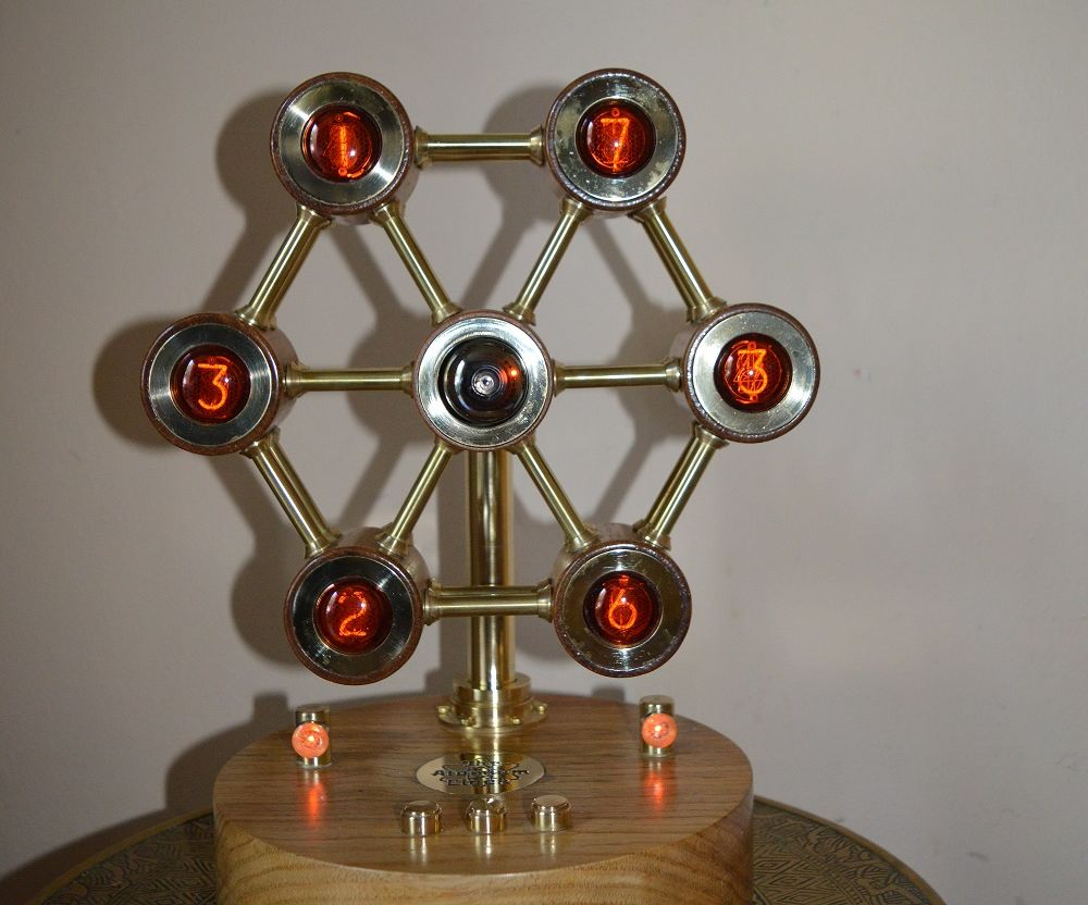 The Atomium Nixie Clock