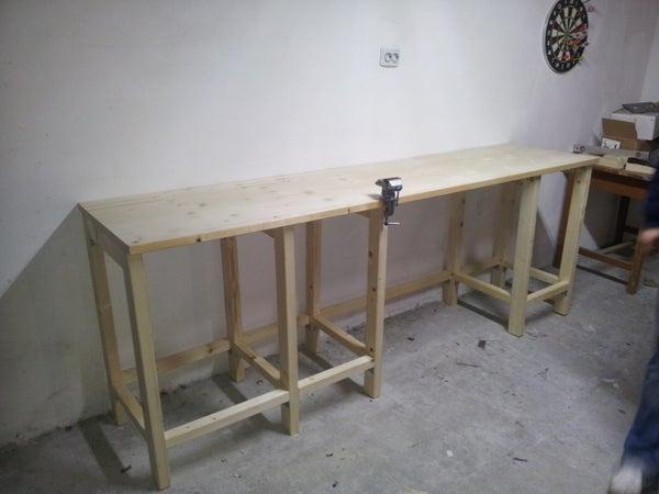 Garage Wood Workbench