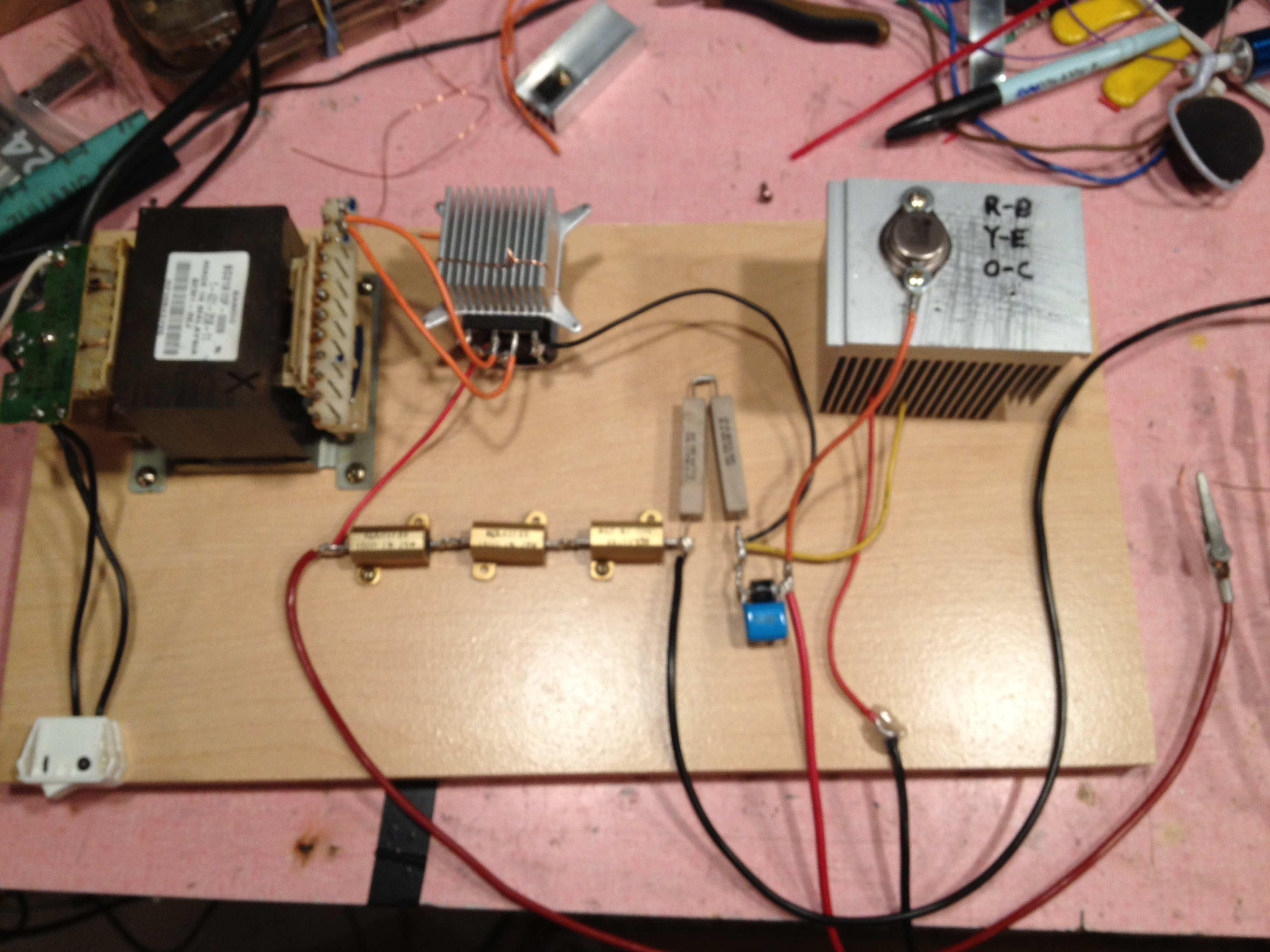 Super Simple Powerful Flyback Driver