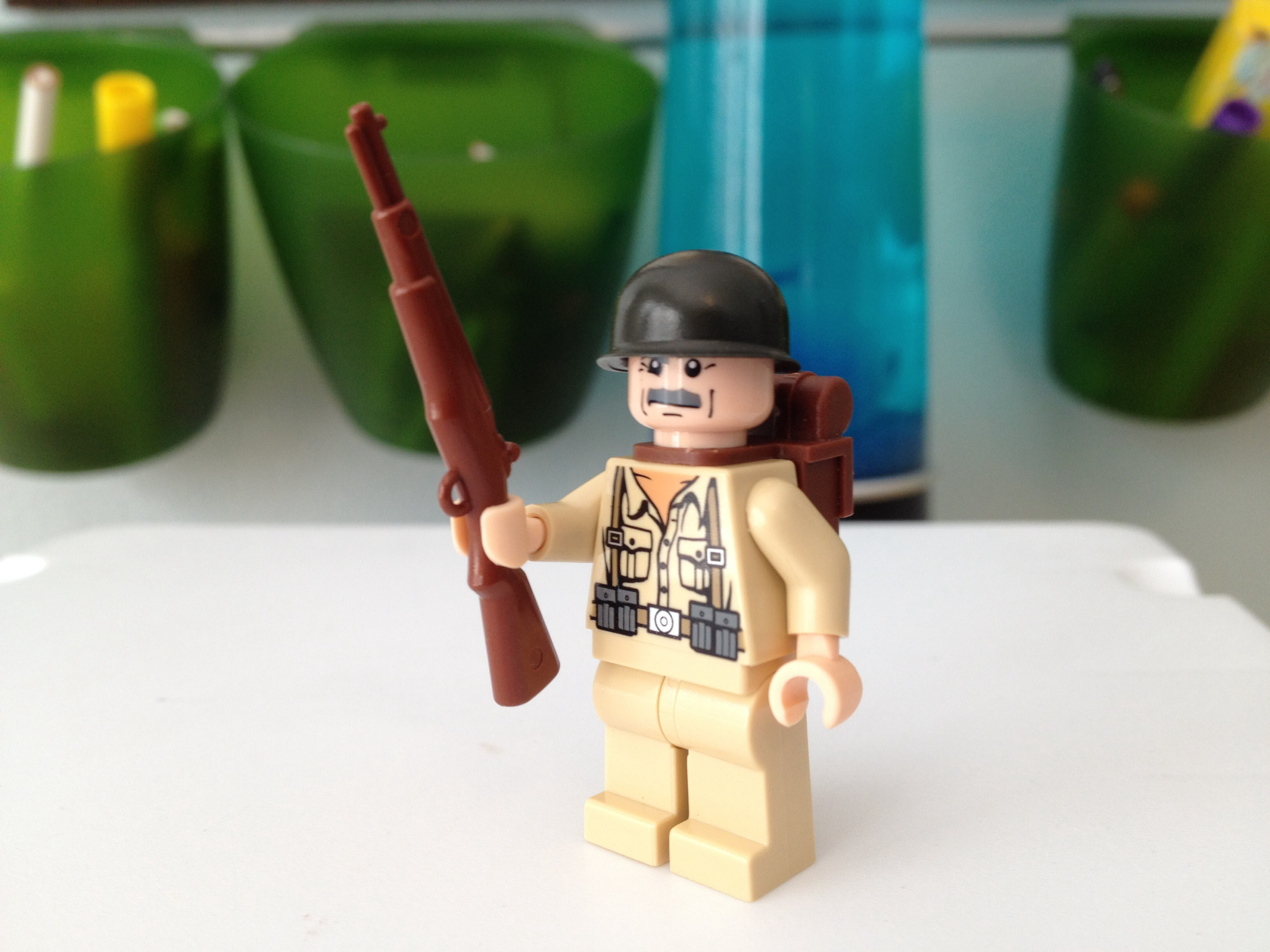 Lego American Soldier