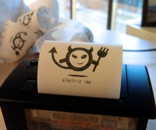 ImPrinter: the Electric Imp Wireless, Internet-connected Thermal Printer