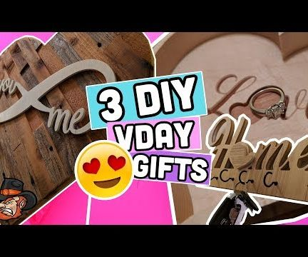 3 DIY Valentine Gift Ideas