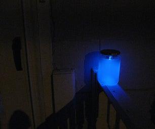 Solar-Powered Glow-Jar